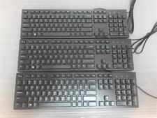 Lot of 3X Dell Slim USB Keyboard (CN-06WMNO-73826-64P-04GZ)