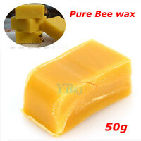50g Food Cosmetic Honey AA Grade furniture wax 100% Organic Natural Pure Beeswax