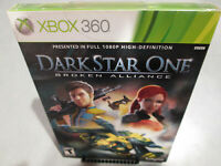 Dark Star One Broken Alliance Xbox 360 Brand New Factory Sealed