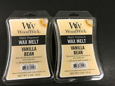 New, WOODWICK Wax Melts Vanilla Bean Scented, 3 Oz Each, Set Of 2