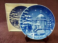 Bareuther Waldsassen Bavaria Germany Collectors Plate Christmas 1970 (522)