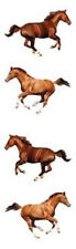 Mrs. Grossman's Stickers - Galloping Horse - Beautiful Photo Real! - 4 Strips