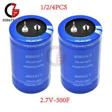 124pcs Lot Farad Capacitor 27v 500f Electrical Component Super Capacitor