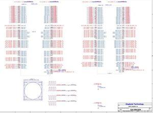 Gigabyte GA-X99-UD4 r1.10  datasheet boardview pdf schematics