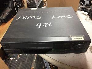 Panasonic AG-2530P 4 Head Pro Line VHS VCR Super Drive AG-2530