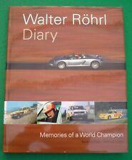 WALTER ROHRL DIARY - REINHARD KLEIN WILFRED MULLER CAPRI QUATTRO FIAT 131 ABARTH