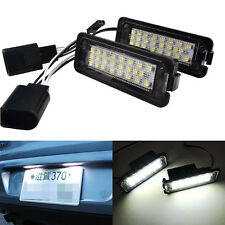 2×VW Canbus LED Number Licence Plate Light Golf GTI MK6 MK5 Passat Polo Scirocco
