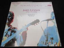 John Lennon One to One Japan Laserdisc Sealed Copy 1992 Beatles Stevie Wonder LD