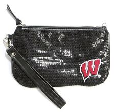 NEW NCAA Wisconsin Badgers Stat Wristlet, Free Shipping
