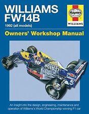 Haynes Williams F1 FW14B Owners Manual BRAND NEW Formula 1 Mansell Patrese Newey
