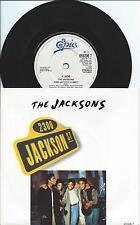 Jacksons:2300 Jackson Street/When I look at you:UK Epic:1989