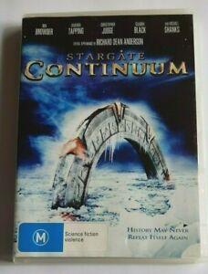 Stargate Continuum Christopher Judge PAL DVD R4 VGC