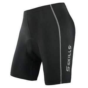Mens Quality Cycling Shorts Coolmax® Padding Outdoor Cycle Gear Tight Shorts