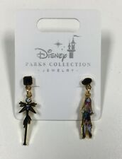Disney Parks Collection Jewelry Nightmare Before Christmas Jack & Sally Earrings