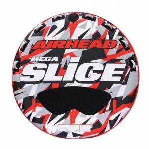 Airhead Mega Slice 4 Rider Towable Tube Red/White