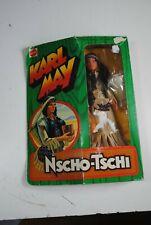 "BIG JIM KARL MAY MATTEL"" NSCHO-TSCHI  "" RARE FIGURE IN THE ORIGINAL BOX !"