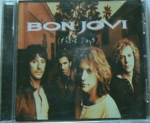 CD  THESE DAYS - BON JOVI - TRES BON ETAT