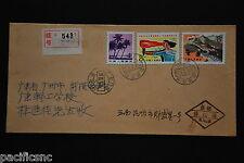 China PRC T38 8f, J88 8f, R22 4f on Cover - Reg'd Yunnan-Kunming cds 1985.3.21
