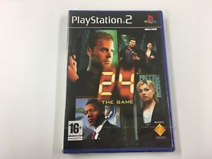 GENUINE SONY 24:The Game (2006) For PlayStation 2 PS2 New Sealed UK PAL