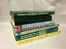 6x Gardening Books Gardening at Eden Secrets and Tips Flowers by Colour