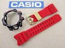 Genuine Casio G-Shock Mudmaster GWG-1000GB-4 GWG1000GB watch band & bezel red