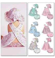 NEW | McCalls Infants Sewing Pattern 6303 Dresses, Panties & Hat | FREE SHIPPING
