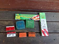 Mixed Lot of Vintage Desktop Items