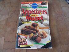 "Pillsbury Classic Cookbook ""Appetizers and Snacks"" # 155 ~ 1994...VGC!"