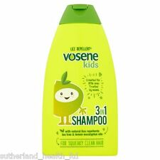 Vosene Kids 3 in 1 Conditioning Shampoo With Head Lice Repellent 250ml