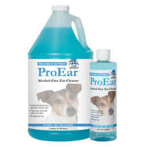 Gentle Pet Ear Cleaner Alcohol Free Dog and Cat Grooming Choose 12oz or Gallon