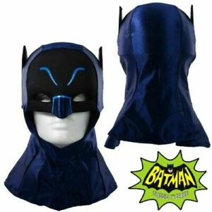 ADAM WEST Mattel BATMAN COWL 1966 ADAM WEST Superhero Cowl