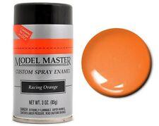 Testors Model Master Automotive Racing Orange Enamel Spray Paint Can  3 oz. 2938