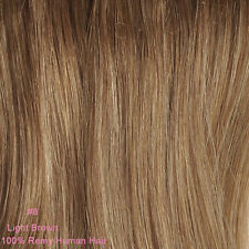 """Premium 20"""" Long Thick Clip In Hair Extensions One Piece 100% Remy Human Hair"""