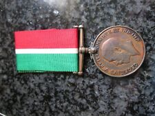 WW1 Malta military medal Abram Felice War Service Mercantile Marine war medal