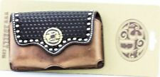 Justin Boots Smartphone Case Holder Geniune Leather Jbph104 Authentic New