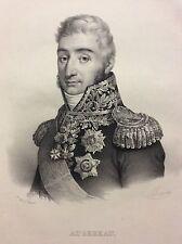 Maréchal d' Empire Pierre Augereau Duc de Castiglione Napoléon Empire Italia