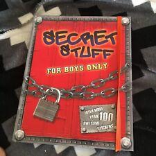 SECRET STUFF FOR BOYS ONLY. FIVE MILE PRESS. 9781742115030
