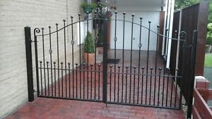 Design G3 Brand new made to measure powder coated gates . £53 per foot