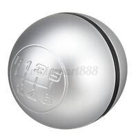 6 Levier vitesse pommeau Mat argent pour Alfa Romeo Giulietta 50294565 55346345