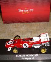 FERRARI 312B2 FORMULA ONE CAR - CLAY REGAZZONI - 1971  - 1:43 - BOXED