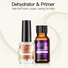 Free Grinding Nail Art BORN PRETTY Nail Prep Dehydrator Nail Primer & Set F1Q6