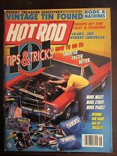 Hot Rod Magazine June 1989 Tips & Tricks 12 Sec 383 Chevelle Newsstand B1 LL Y6