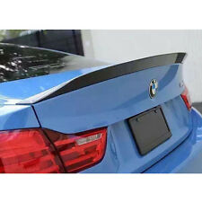 3D Glossy Carbon Fiber Rear Trunk Duck Lid Spoiler Wing Fits 2015+ BMW F82 M4