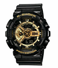 Casio G-Shock Gold GA110GB-1A Black Resin Quartz Watch New Original