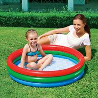 Paddling Pool Bestway Splash & Play Inflatable Swimming Garden Outdoor 3 Ring
