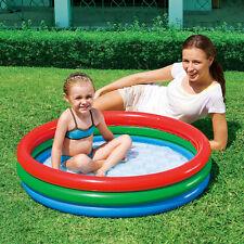 Pataugeoire bestway Splash & Play gonflable piscine jardin extérieur 3 anneaux