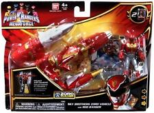 POWER RANGERS MEGAFORCE SKY BROTHERS ZORD VEHICLE & RED RANGER FIGURE SET