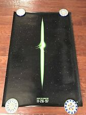 ALIEN RESSURECTION 27X40 DS MOVIE POSTER ONE SHEET NEW AUTHENTIC