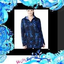 3965754a2dbb4 🌴NWT Lands End TOP Popover Hoodie 1X Coverup WARM UP GYM POOL BEACH  plus