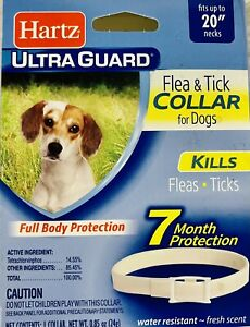 HARTZ ULTRA GUARD FLEA & TICK COLLAR FOR DOGS 7 MONTH PROTECTION-D7